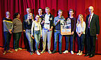 Gruppenfoto der Oldenburger im Kino